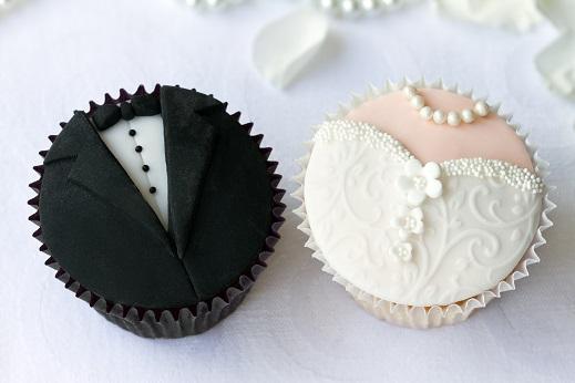 cupcakes till bröllopet